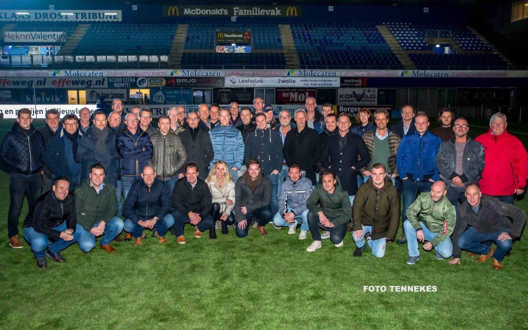 Businessclub IJsseldelta bezoekt PEC Zwolle