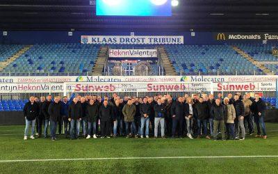 Businessclubs Go-Ahead en DOS leven samen naar Kamper derby toe bij PEC Zwolle-Ajax